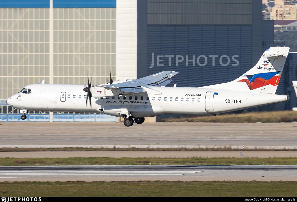 SX-THR - ATR 72-212A(500) - Sky Express