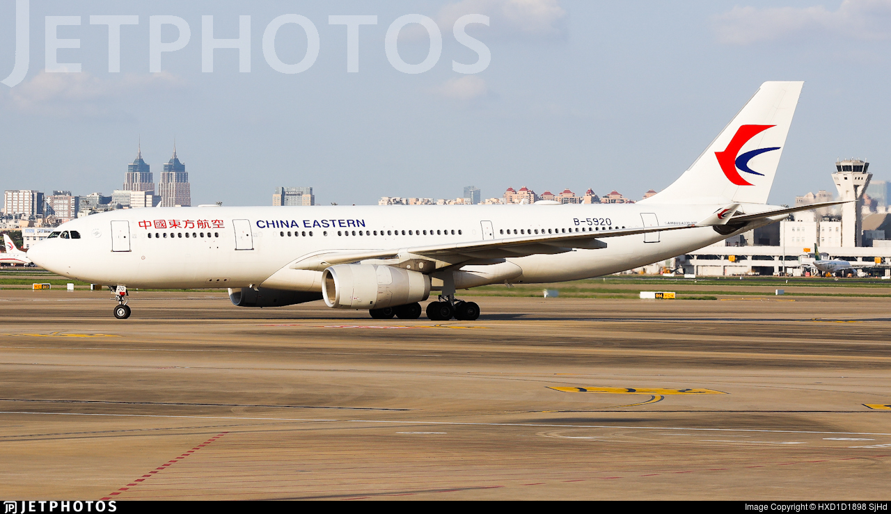 B-5920 - Airbus A330-243 - China Eastern Airlines