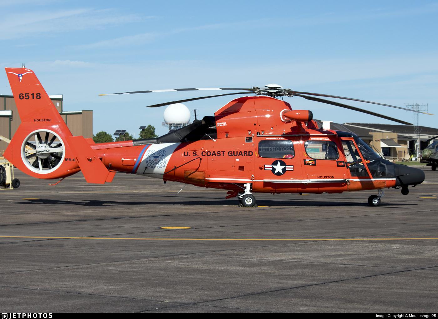 6518 - Aérospatiale MH-65D Dolphin - United States - US Coast Guard (USCG)