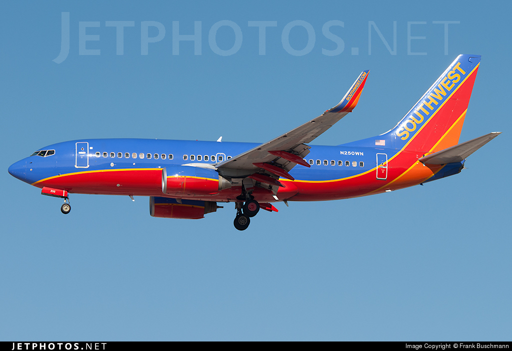 N250WN | Boeing 737-7H4 | Southwest Airlines | Frank ...