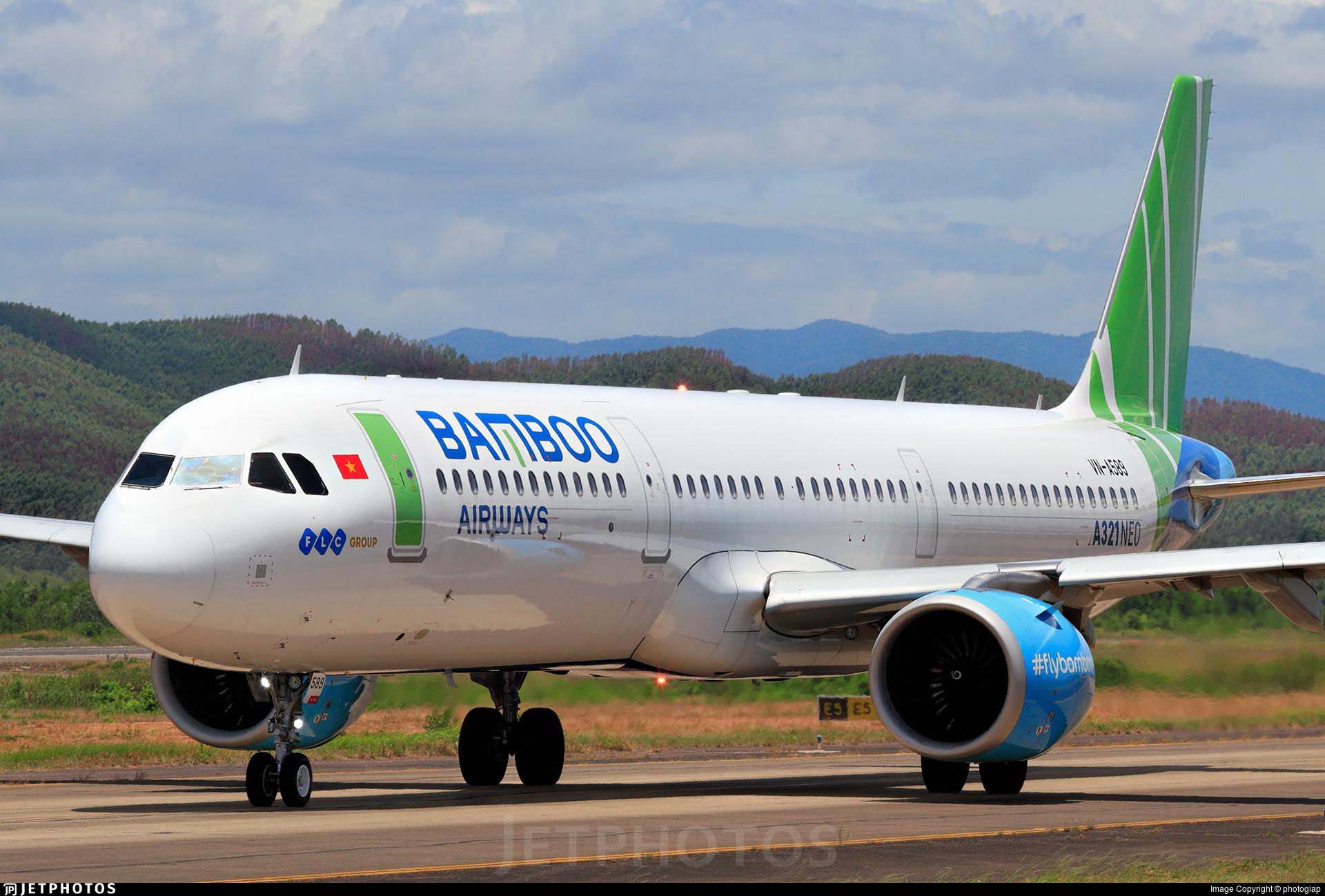 VN-A589 - Airbus A321-251N - Bamboo Airways