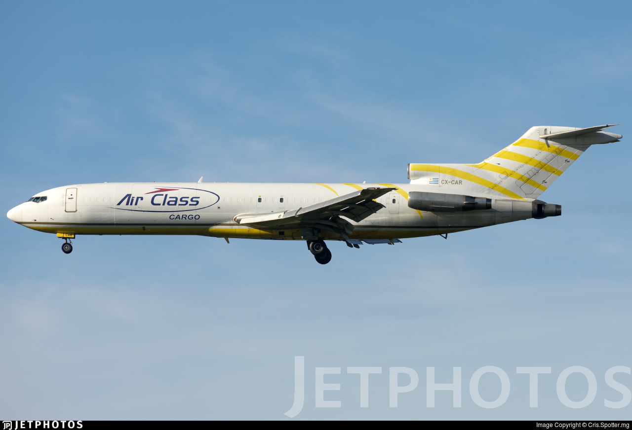CX-CAR - Boeing 727-214(Adv)(F) - Air Class Lineas Aereas
