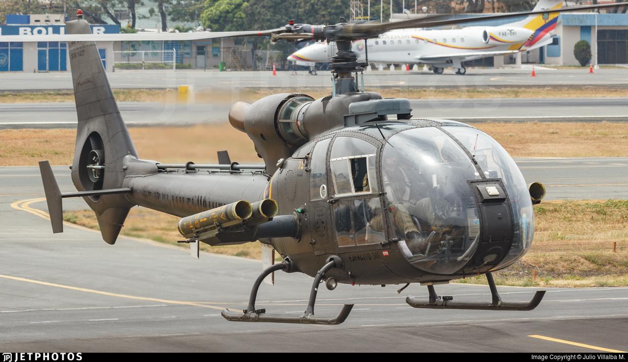 E-349 - Aérospatiale SA 342L Gazelle - Ecuador - Army
