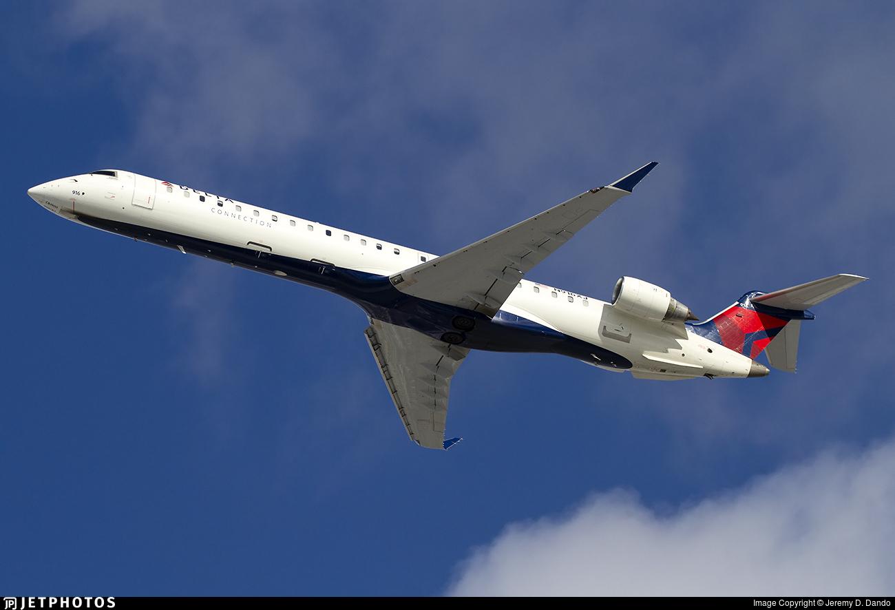 N916XJ - Bombardier CRJ-900LR - Delta Connection (Endeavor Air)