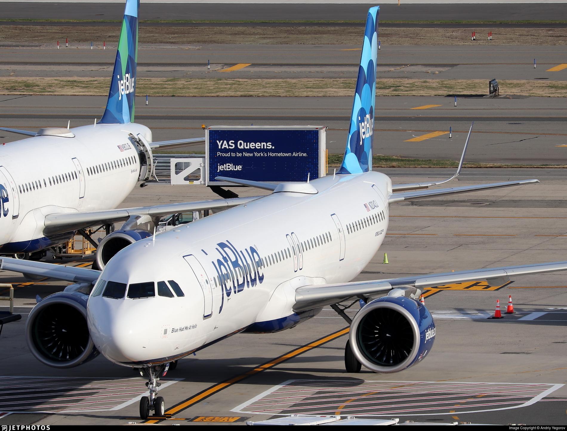 N2043J - Airbus A321-271NX - jetBlue Airways