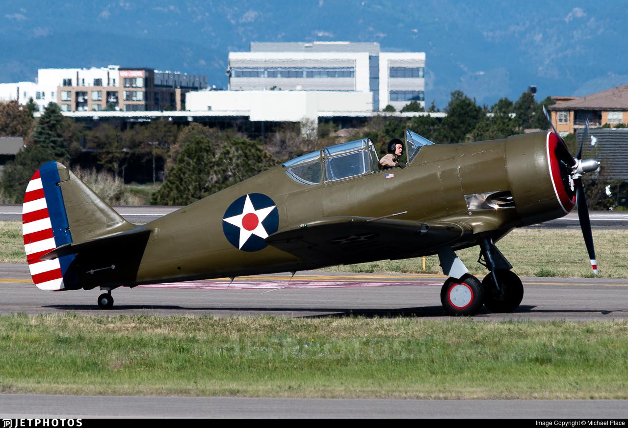 N80714 - North American P-64 - Private