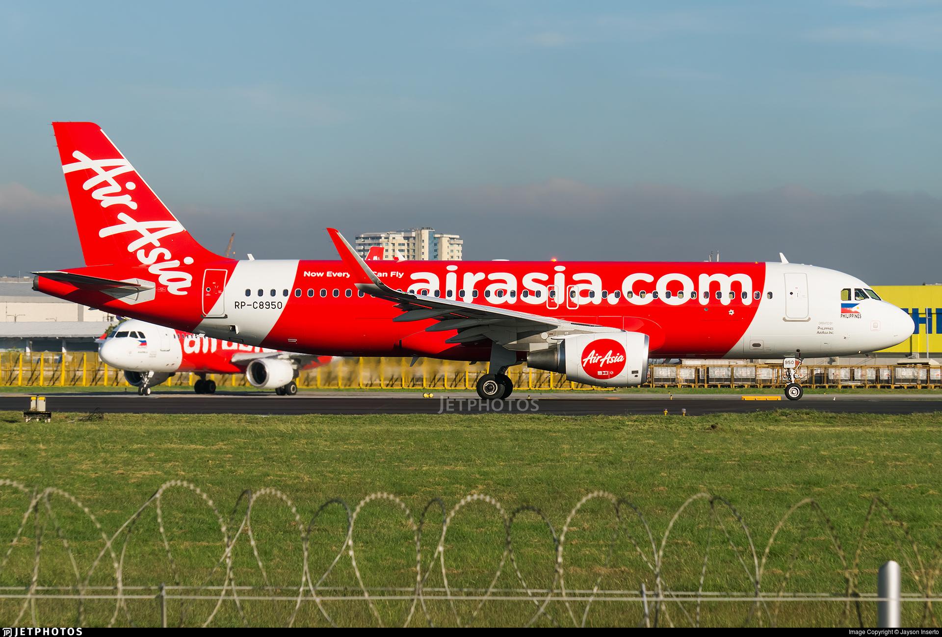 RP-C8950 - Airbus A320-216 - Philippines AirAsia