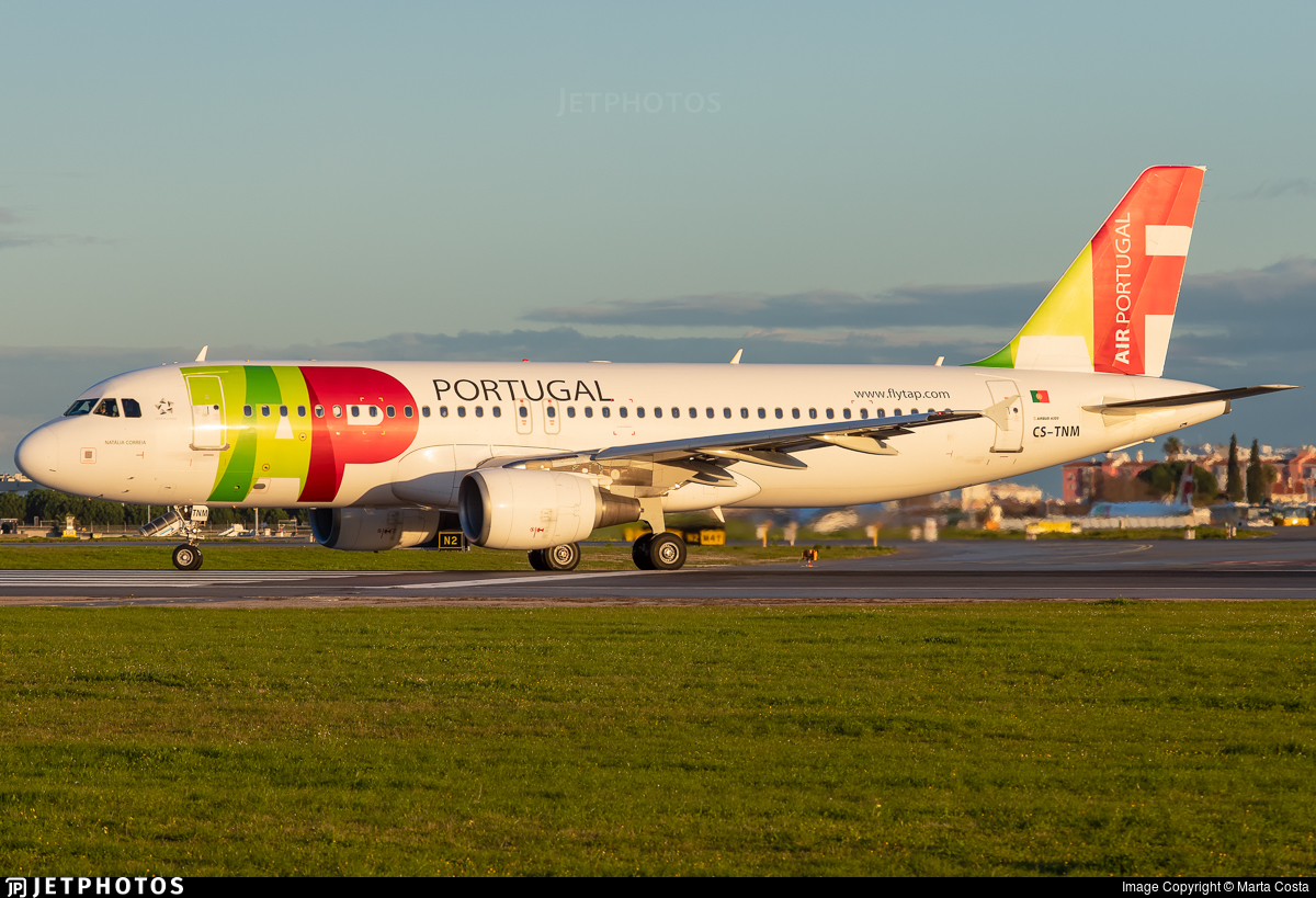 CS-TNM - Airbus A320-214 - TAP Air Portugal