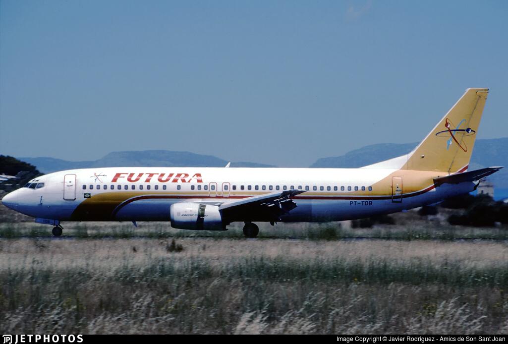 PT-TDB - Boeing 737-4Y0 - Futura International Airways