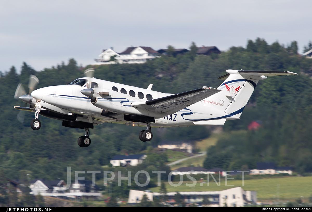 SE-MAZ - Beechcraft B200 Super King Air - Scandinavian Air Ambulance
