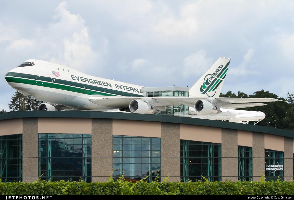 N481EV - Boeing 747-132C - Evergreen International Airlines