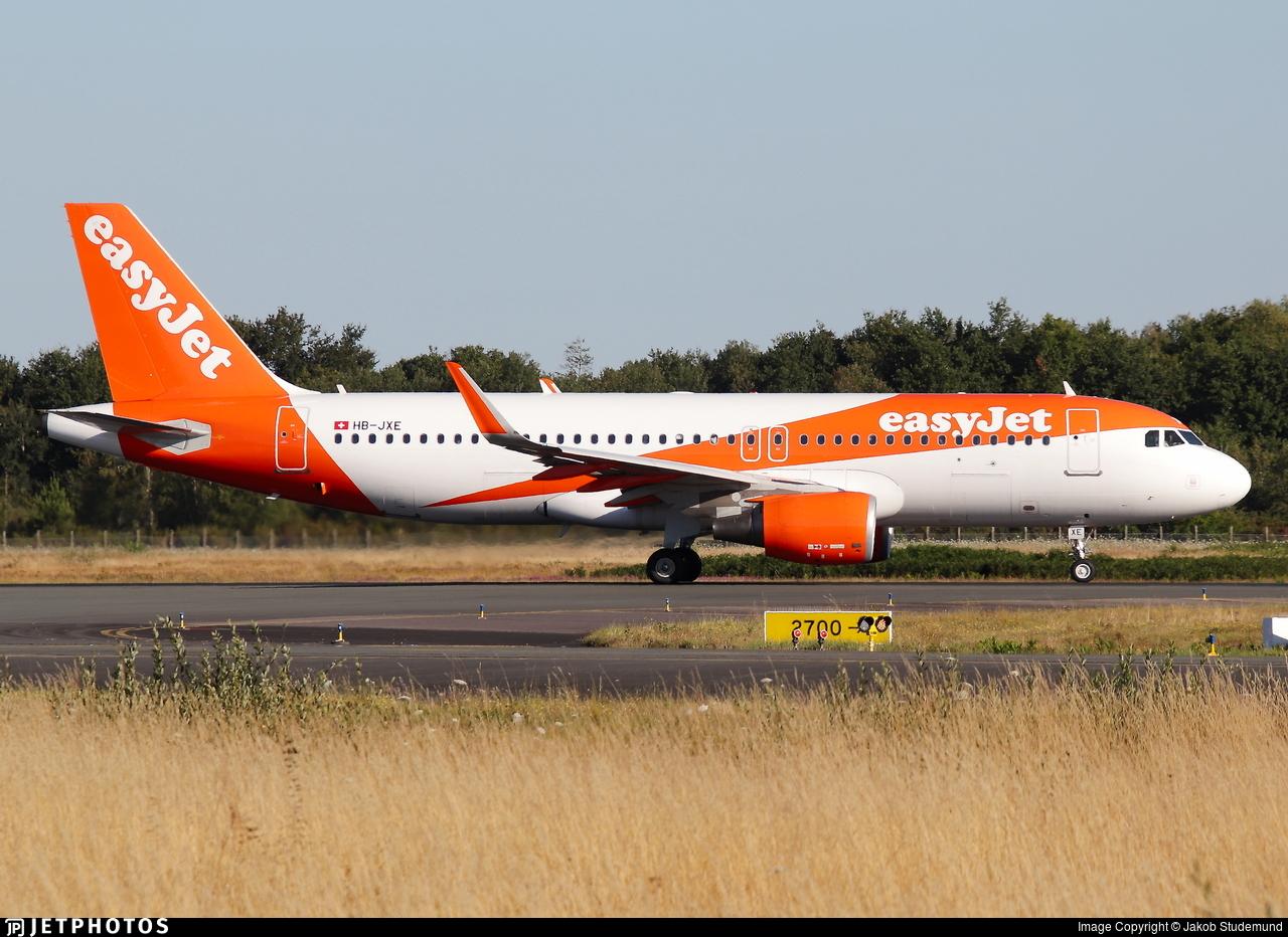 HB-JXE - Airbus A320-214 - easyJet Switzerland