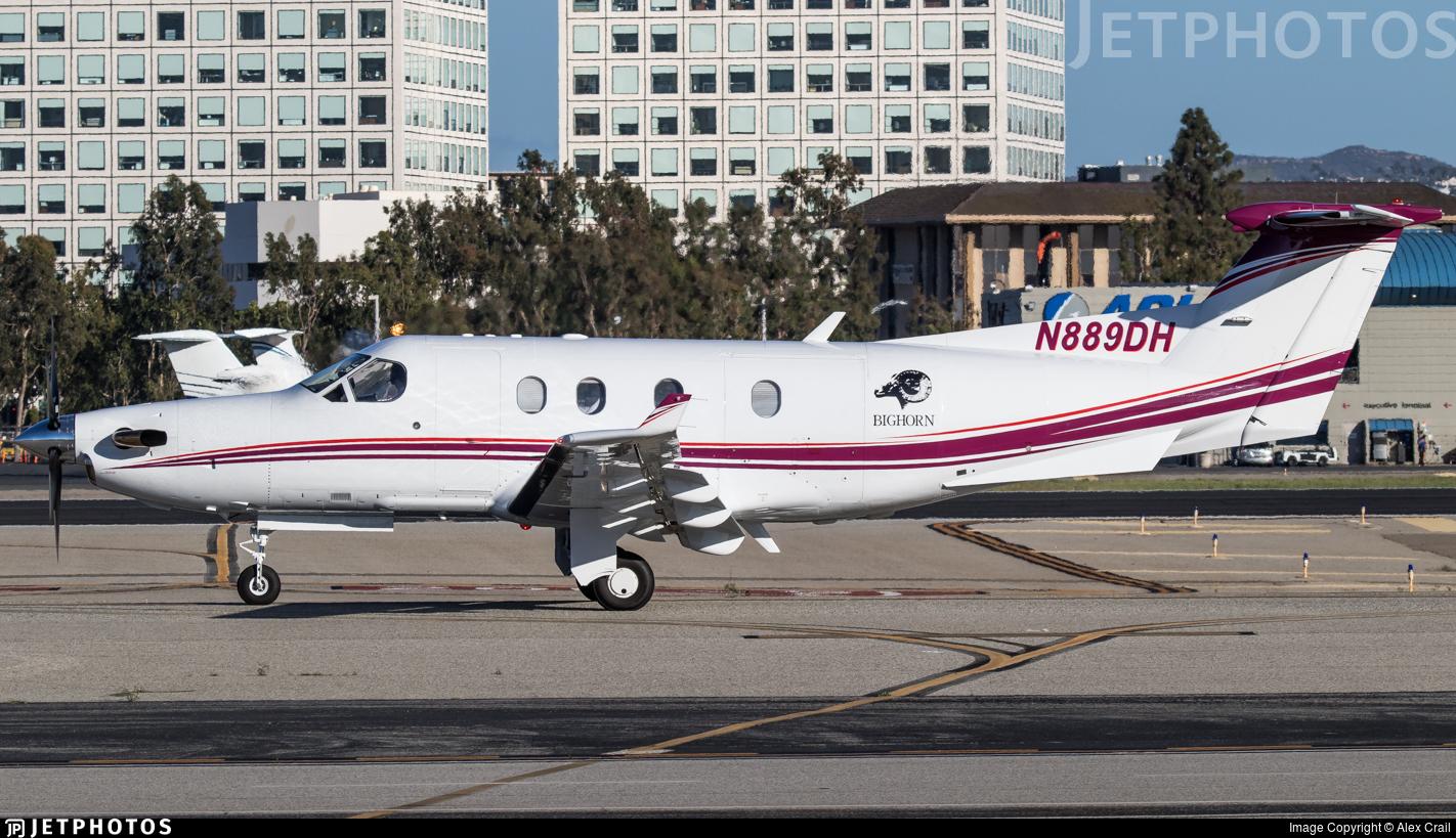 N889DH - Pilatus PC-12/45 - Private