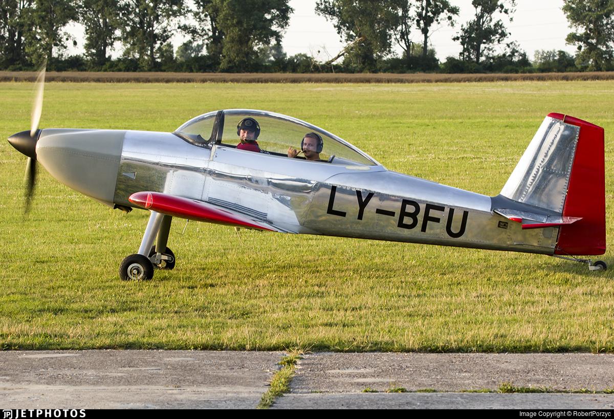 LY-BFU - Vans RV-8 - Private