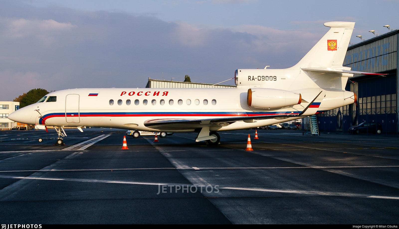 RA-09009 - Dassault Falcon 7X - Rossiya Airlines