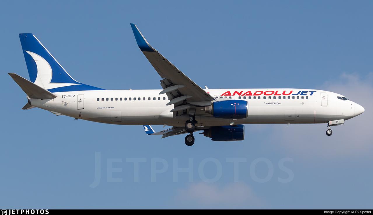 TC-SBJ - Boeing 737-8AS - AnadoluJet