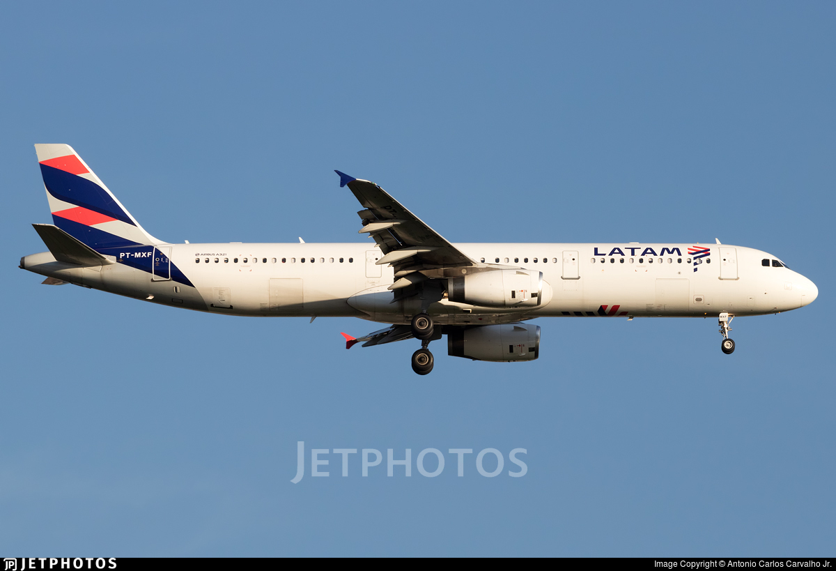 PT-MXF - Airbus A321-231 - LATAM Airlines