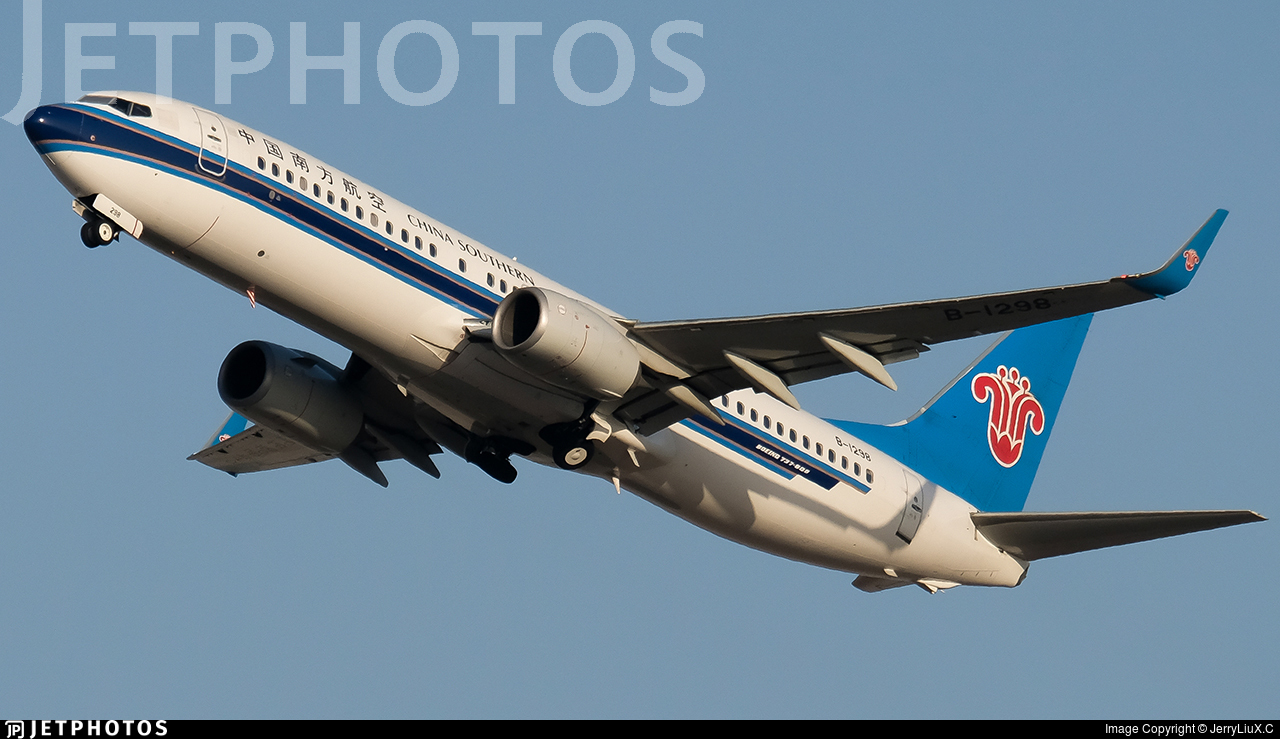 B-1298 - Boeing 737-81B - China Southern Airlines