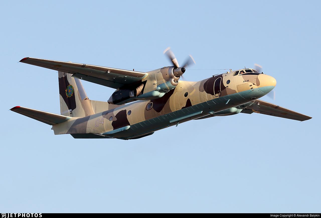 04 - Antonov An-26 - Kazakhstan - Border Guard