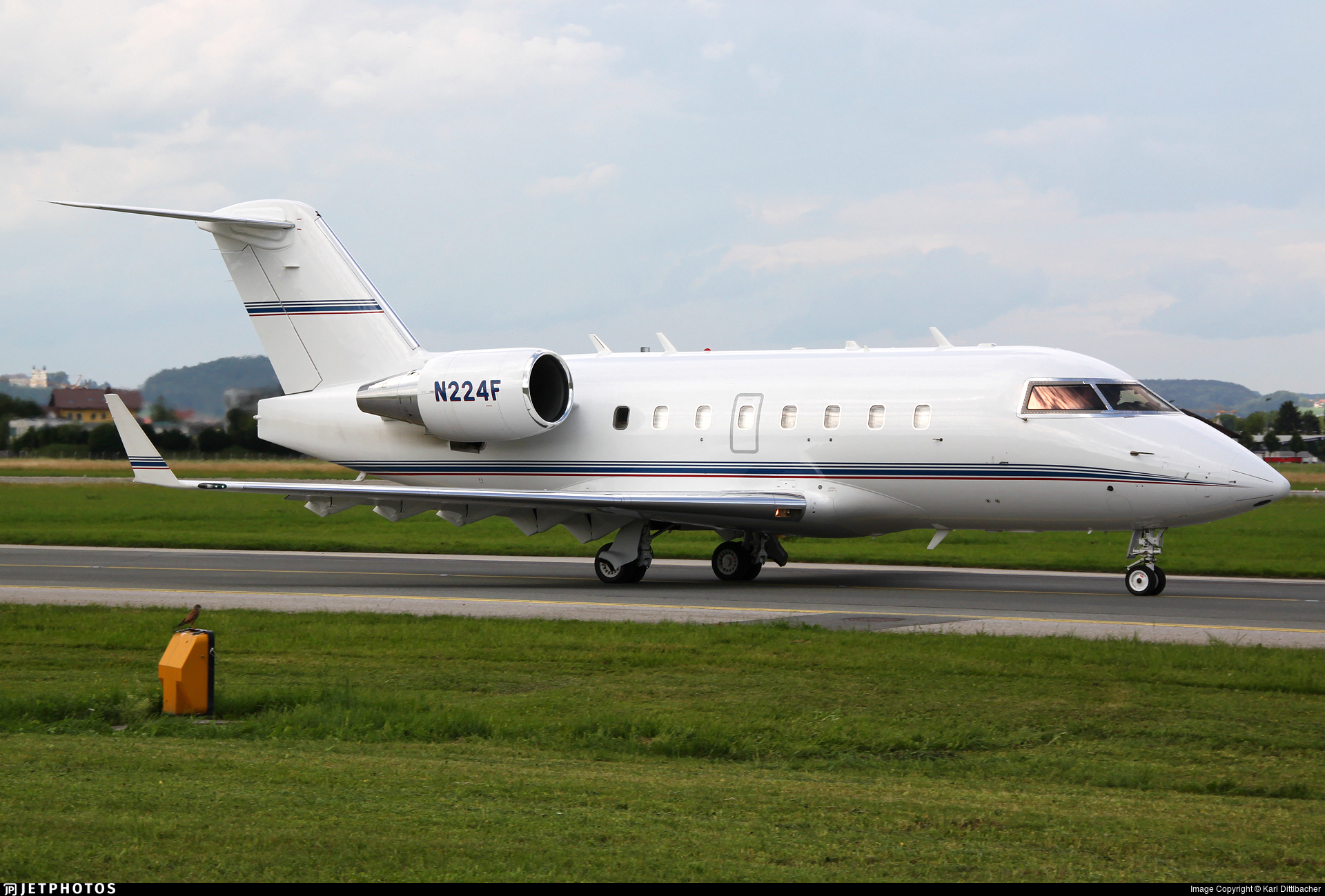 N224F - Bombardier CL-600-2B16 Challenger 601-3R - Freeman Air Charter Services