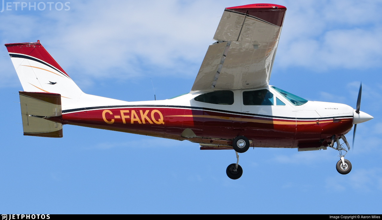 C-FAKQ - Cessna 177RG Cardinal RG - Private