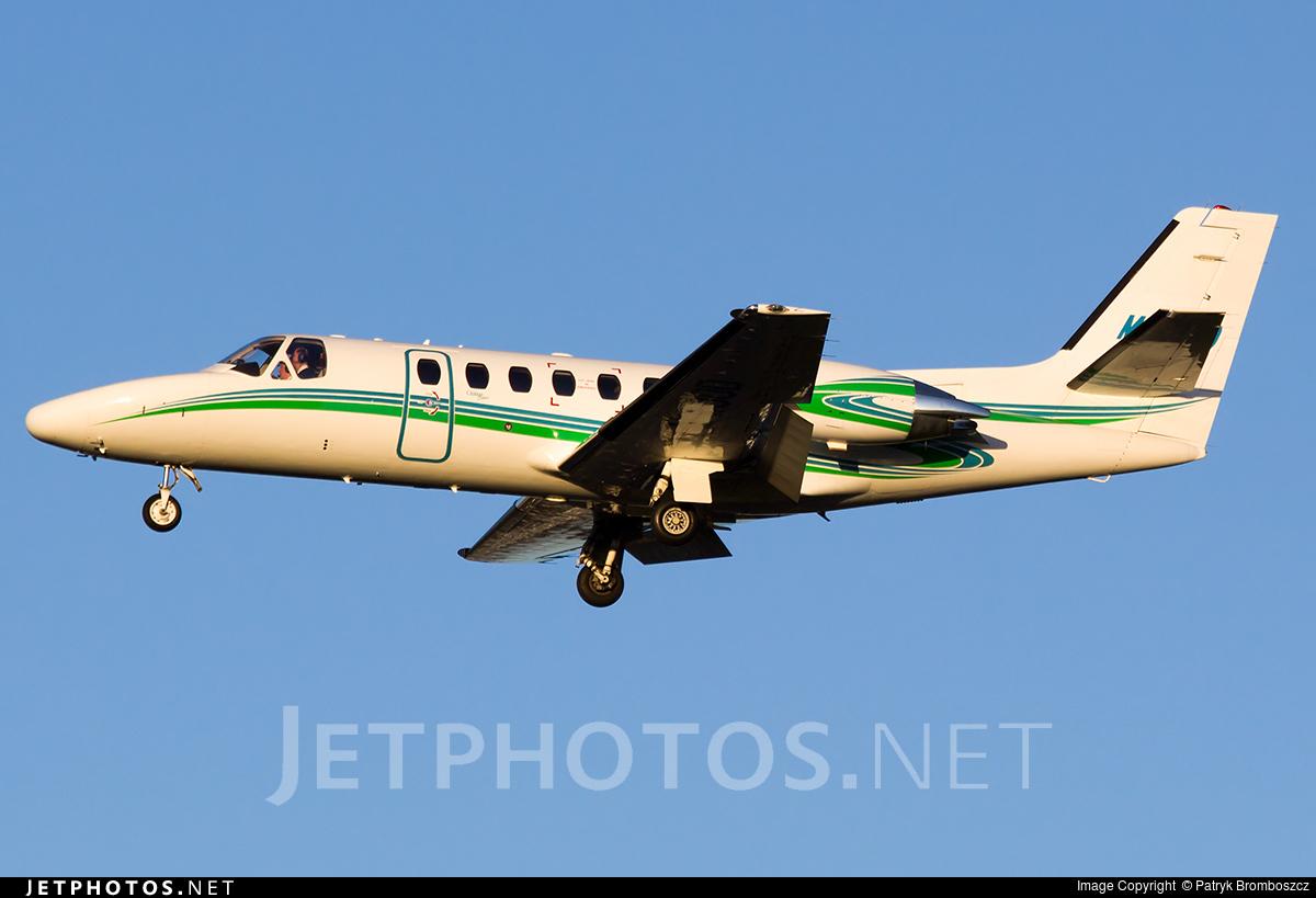 M-WOOD - Cessna 550B Citation Bravo - Private