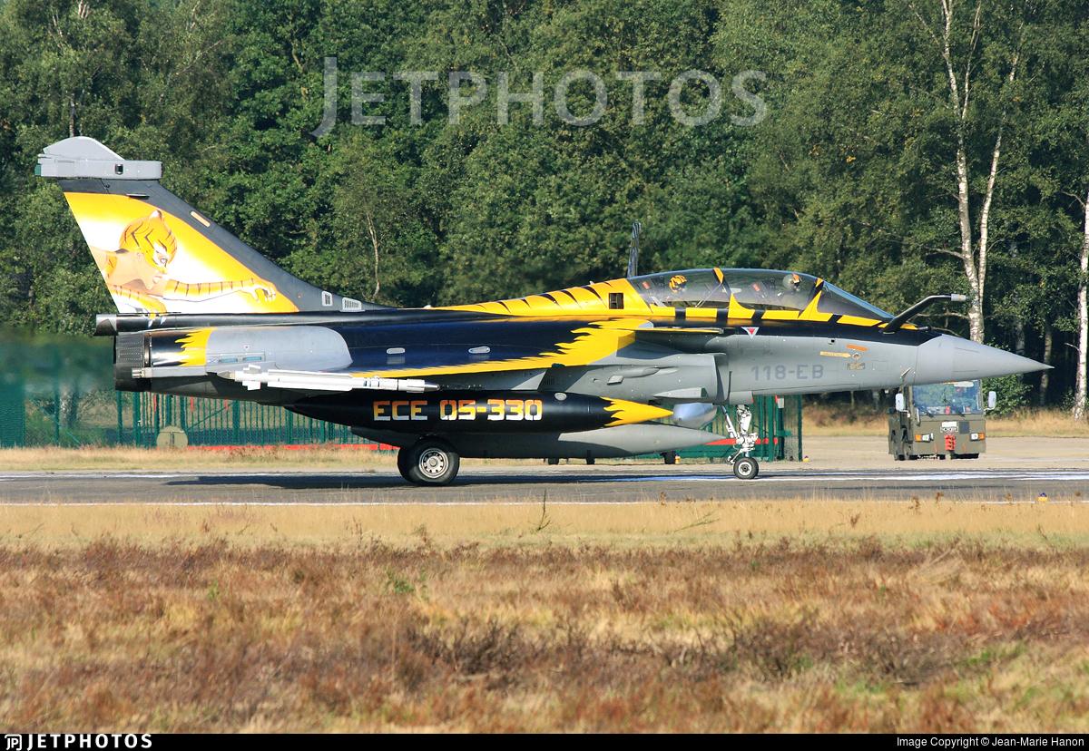 304 - Dassault Rafale B - France - Air Force