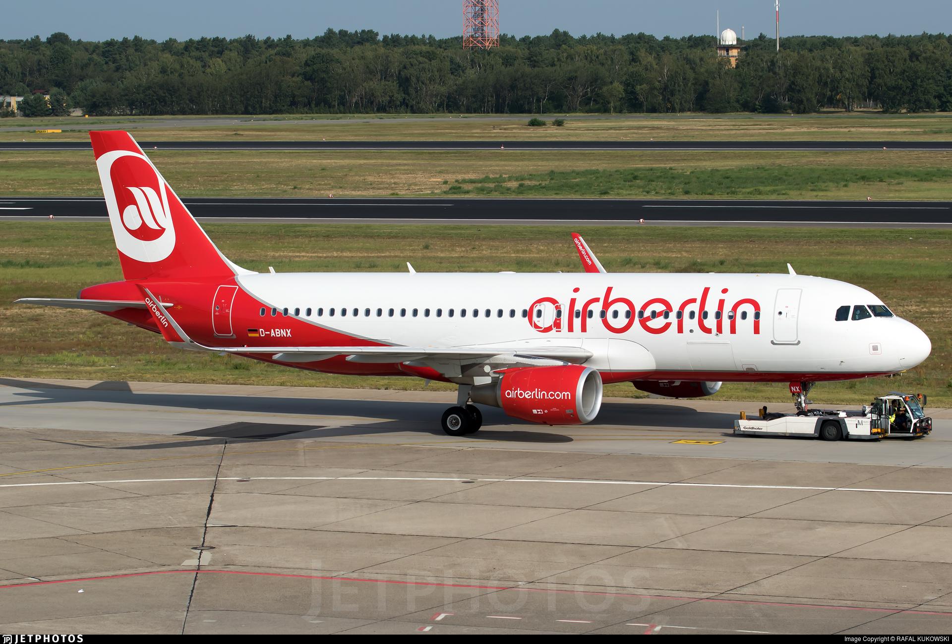 D-ABNX - Airbus A320-214 - Air Berlin