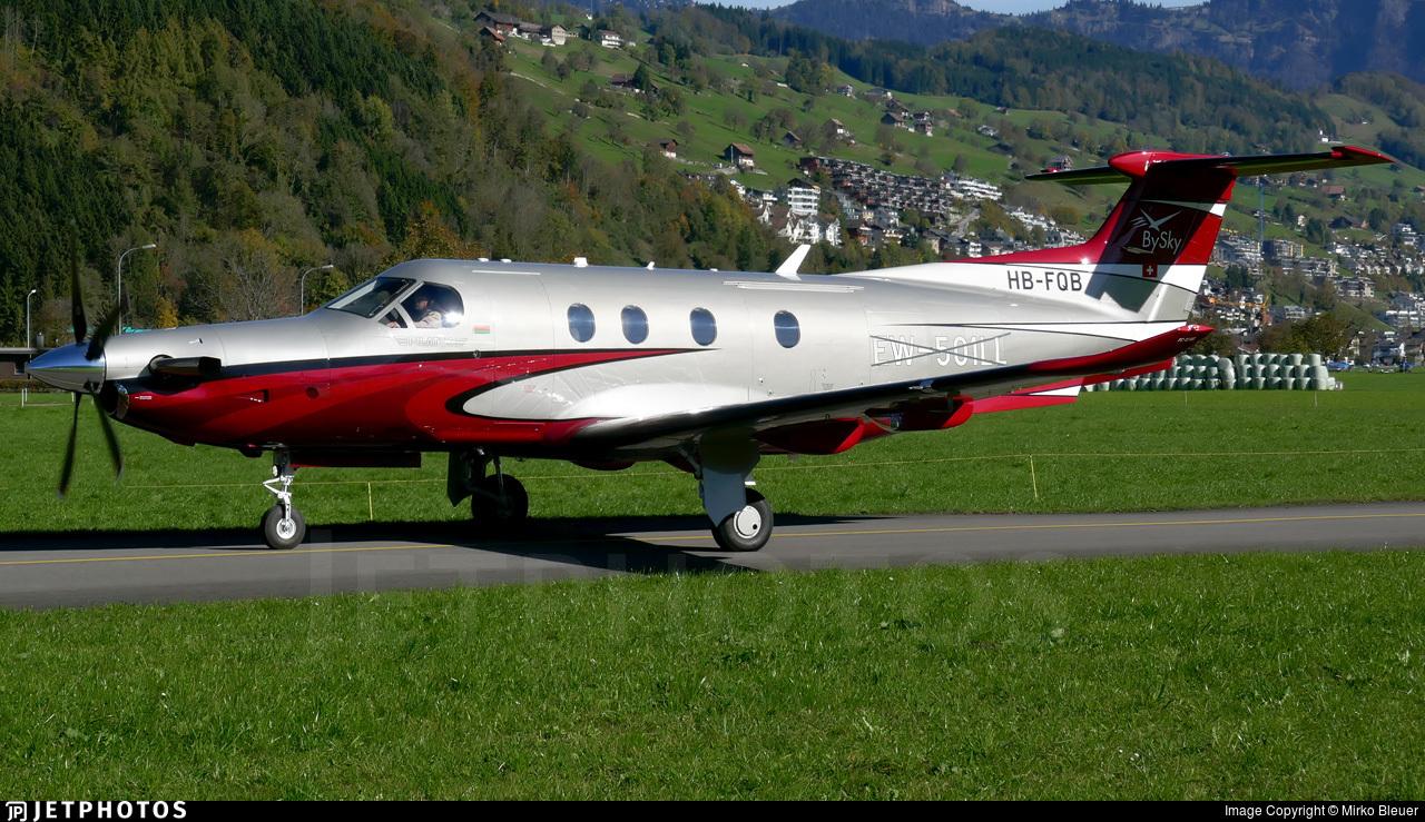 HB-FQB - Pilatus PC-12/47E - BySky