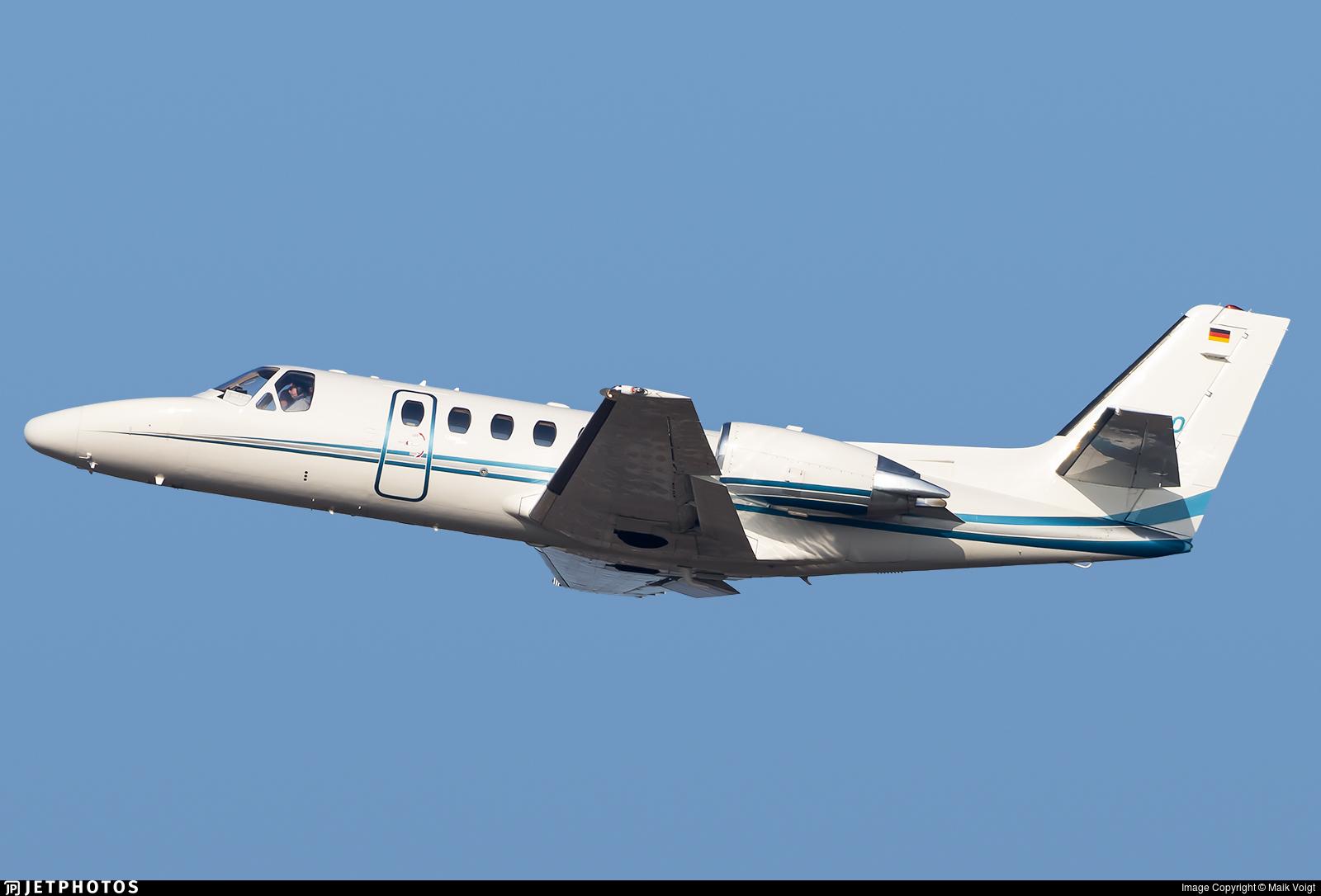 D-CDSO - Cessna 550B Citation Bravo - Heli-Flight