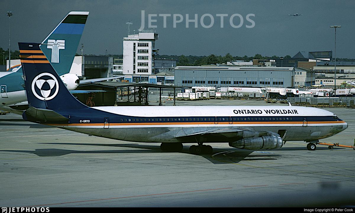 C-GRYO - Boeing 707-351C - Ontario Worldair