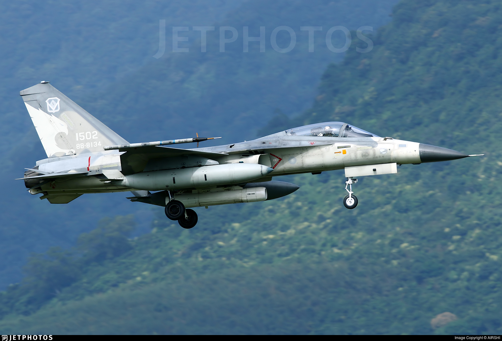 1502 - AIDC F-CK-1C Ching Kuo - Taiwan - Air Force