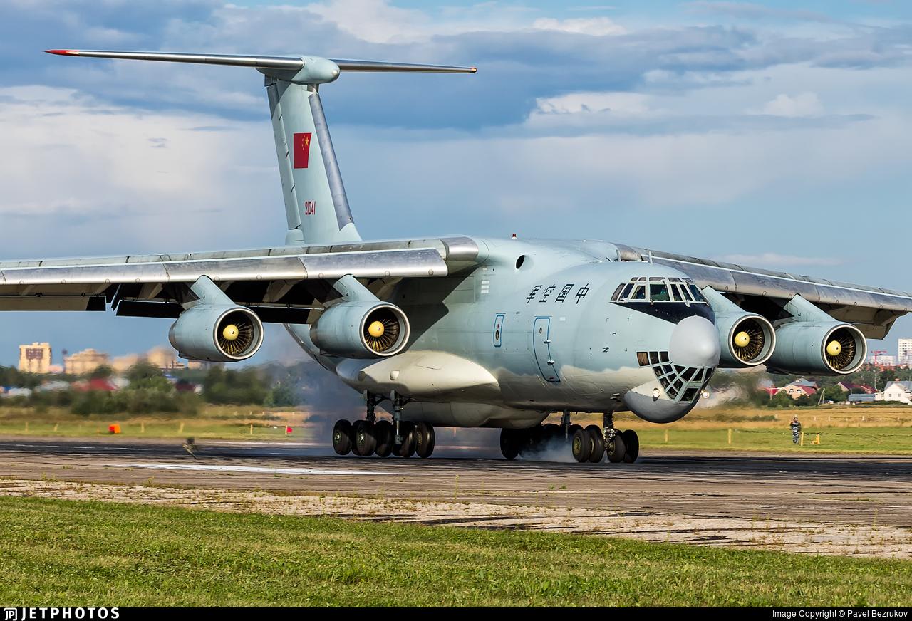 21041 - Ilyushin IL-76MD - China - Air Force