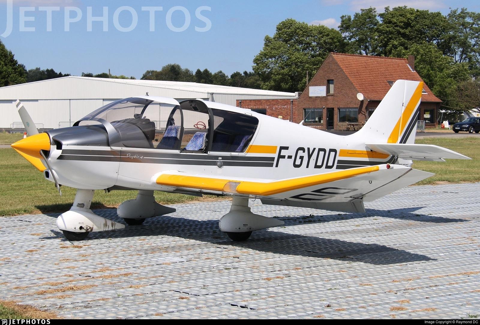 F-GYDD - Robin DR400/140B Dauphin - Private