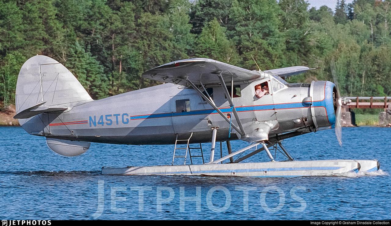 N45TG - Noorduyn Norseman Mk.V - Private