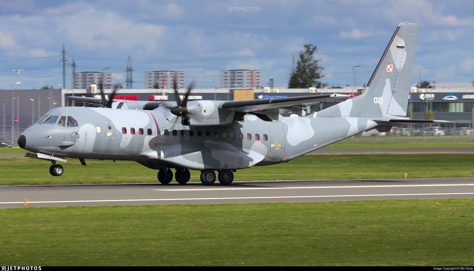 021 - CASA C-295M - Poland - Air Force
