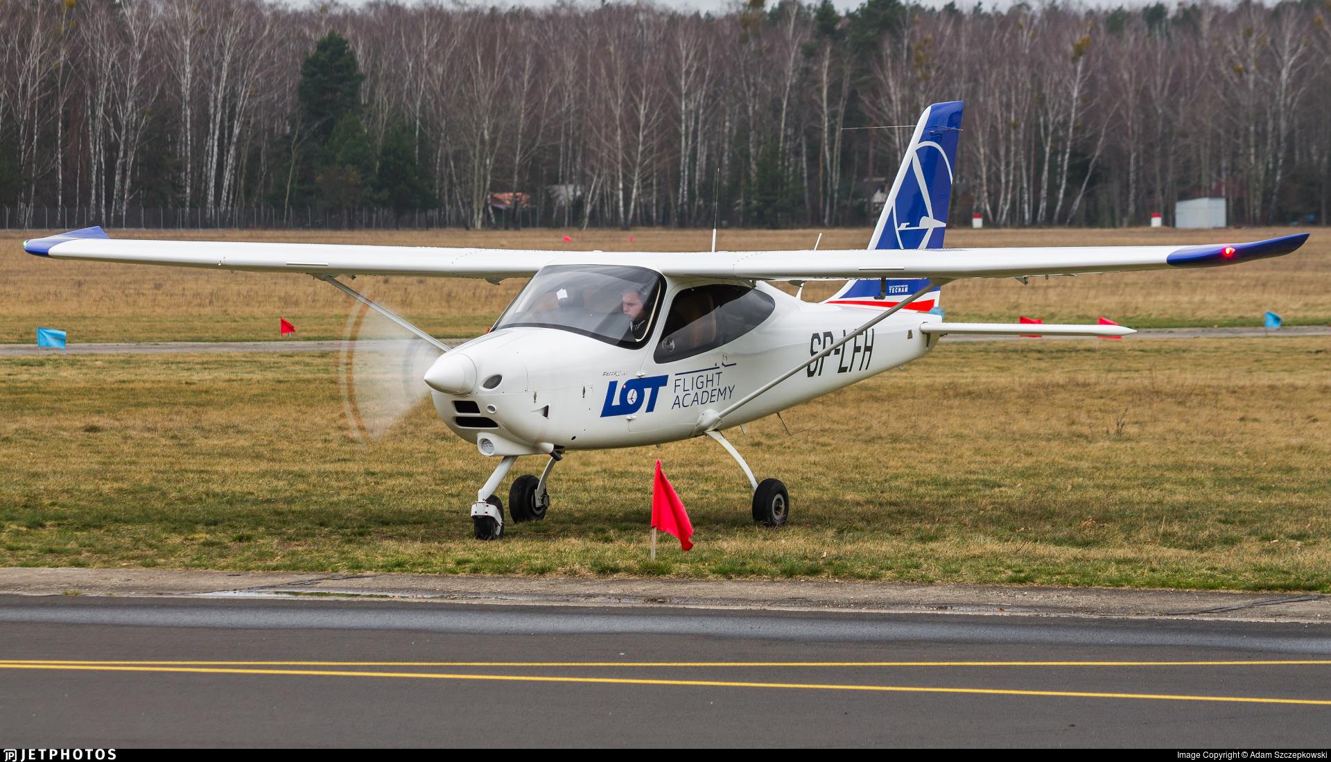 SP-LFH - Tecnam P2008JC MkII - LOT Flight Academy