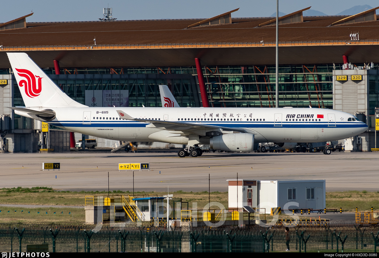 B-6115 - Airbus A330-243 - Air China