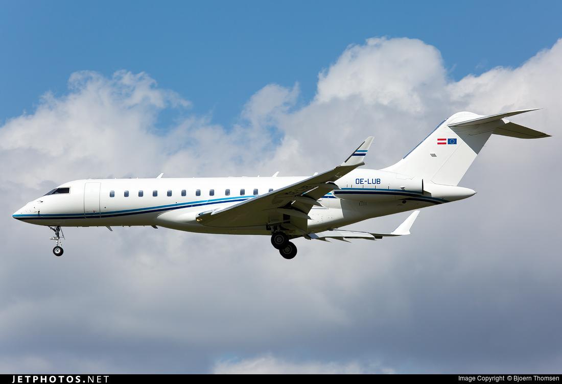 OE-LUB | Bombardier BD-700-1A10 Global Express XRS ...
