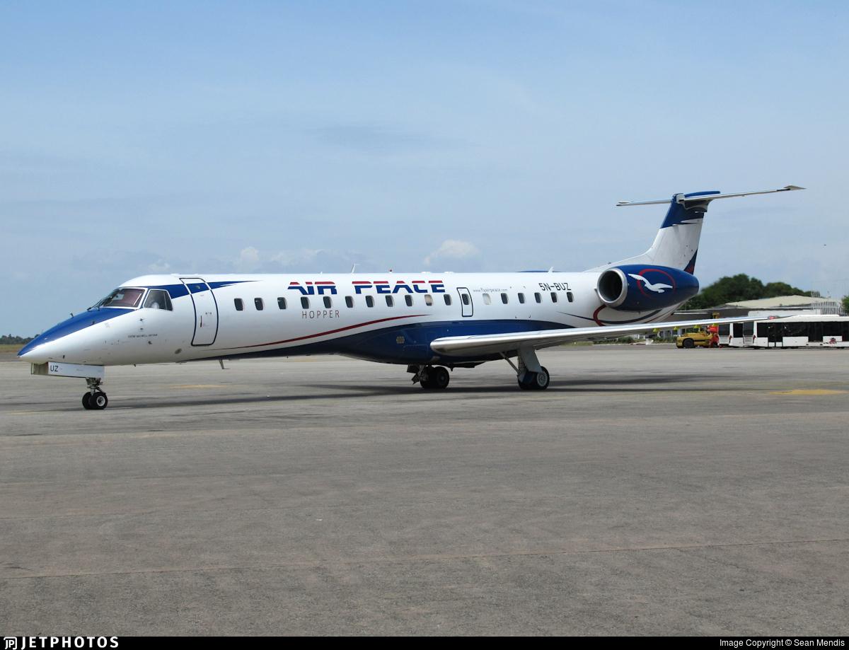 5N-BUZ - Embraer ERJ-145LR - Air Peace