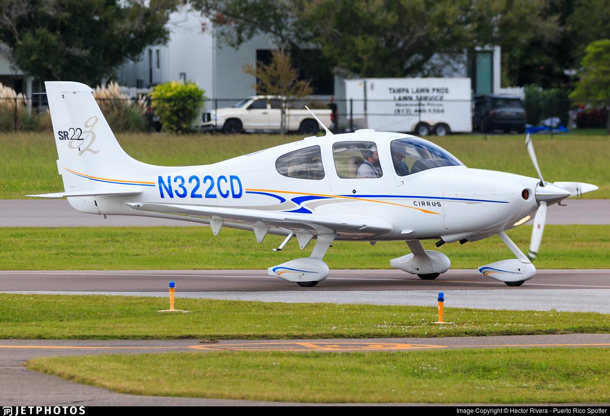 N322CD - Cirrus SR22-G2 - Private