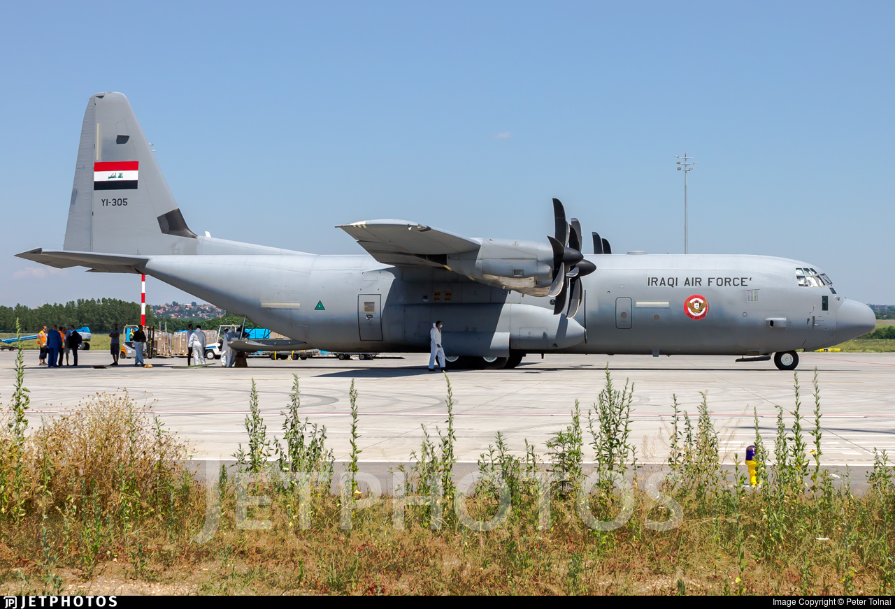 YI-305 - Lockheed Martin C-130J-30 Hercules - Iraq - Air Force
