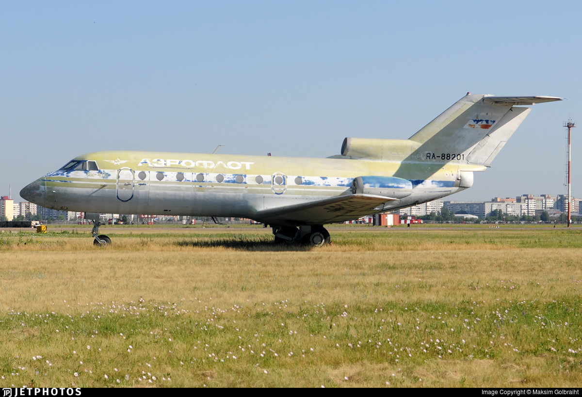 RA-88201 - Yakovlev Yak-40K - Aeroflot
