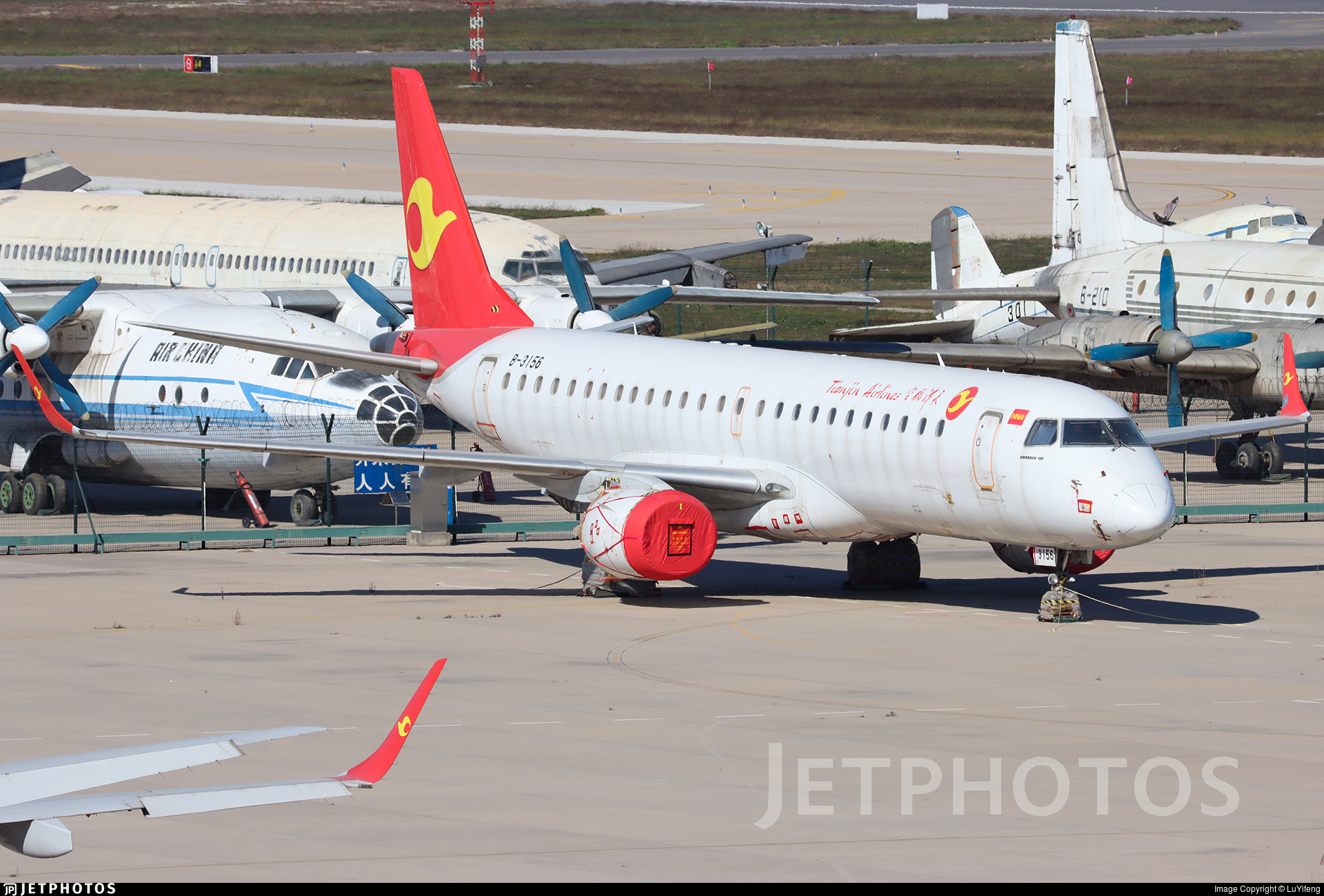 B-3156 - Embraer 190-100IGW - Tianjin Airlines