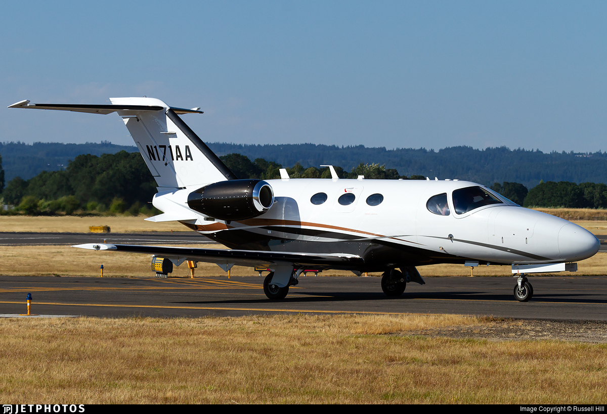 N171AA - Cessna 510 Citation Mustang - Private