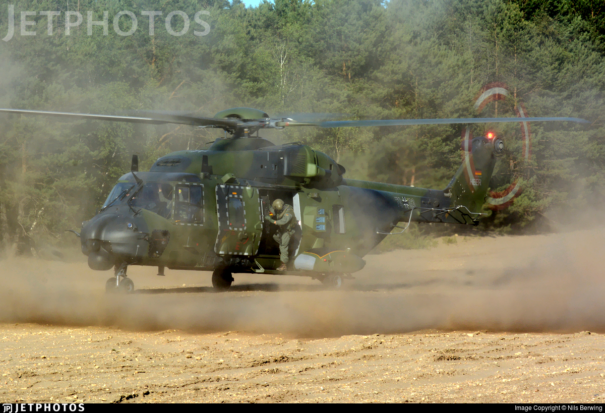 79-03 - NH Industries NH-90TTH - Germany - Army
