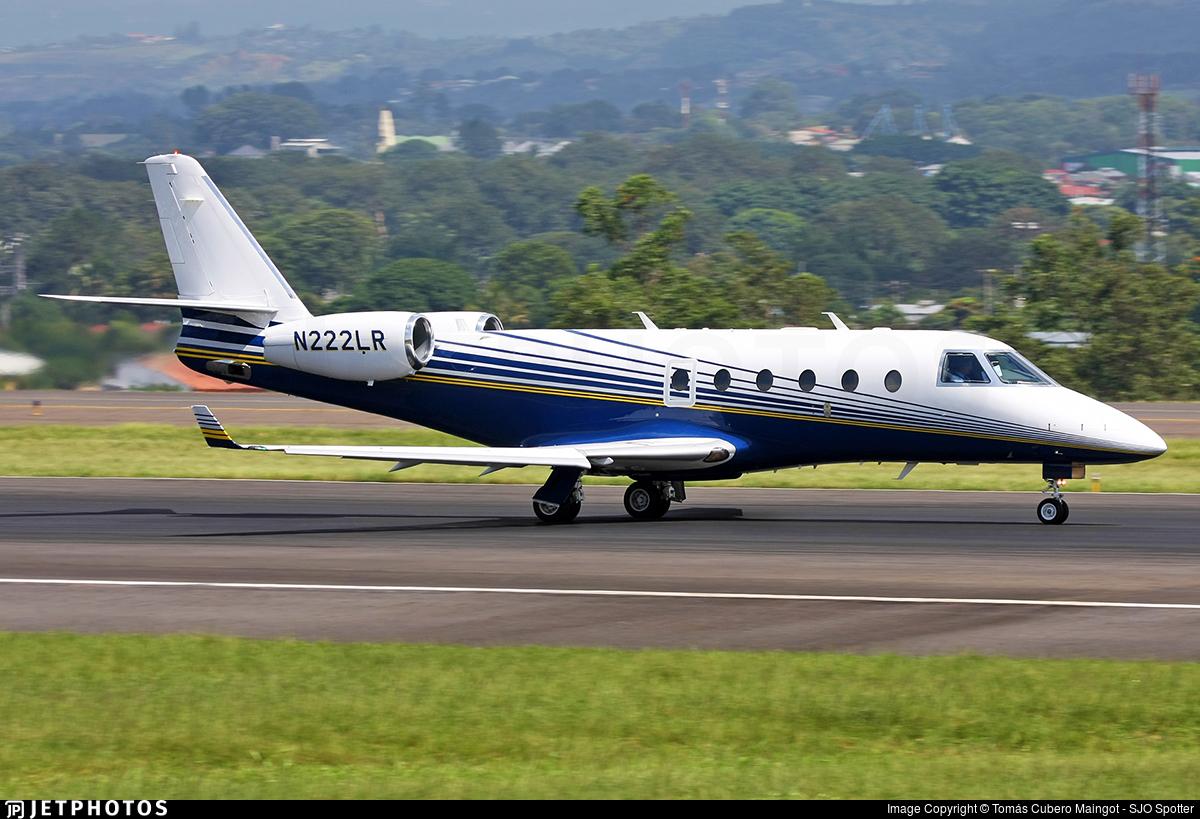 N222LR - Gulfstream G150 - Private