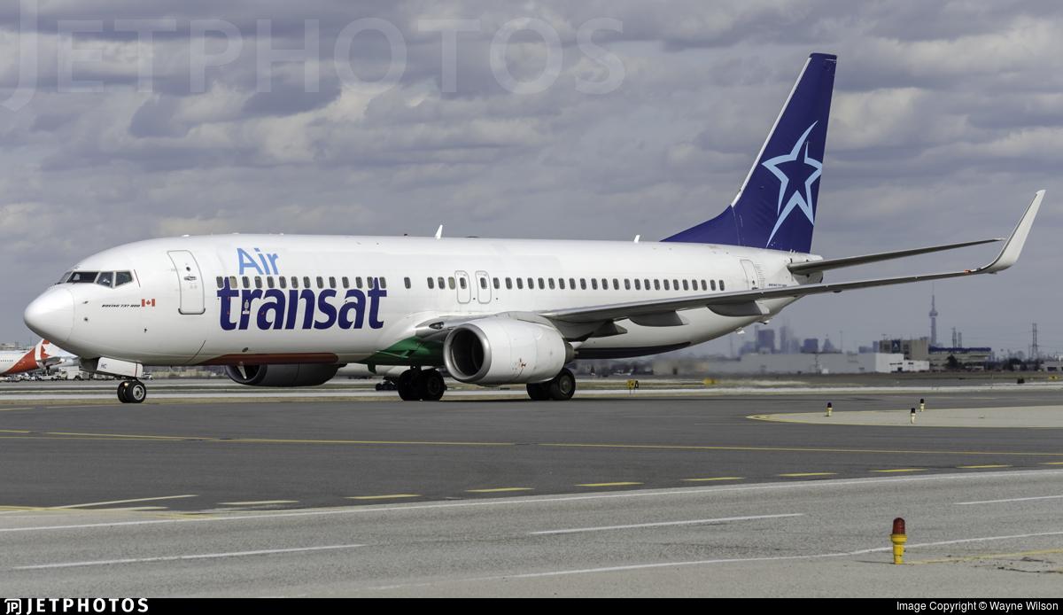 F-GZHC - Boeing 737-8K2 - Air Transat