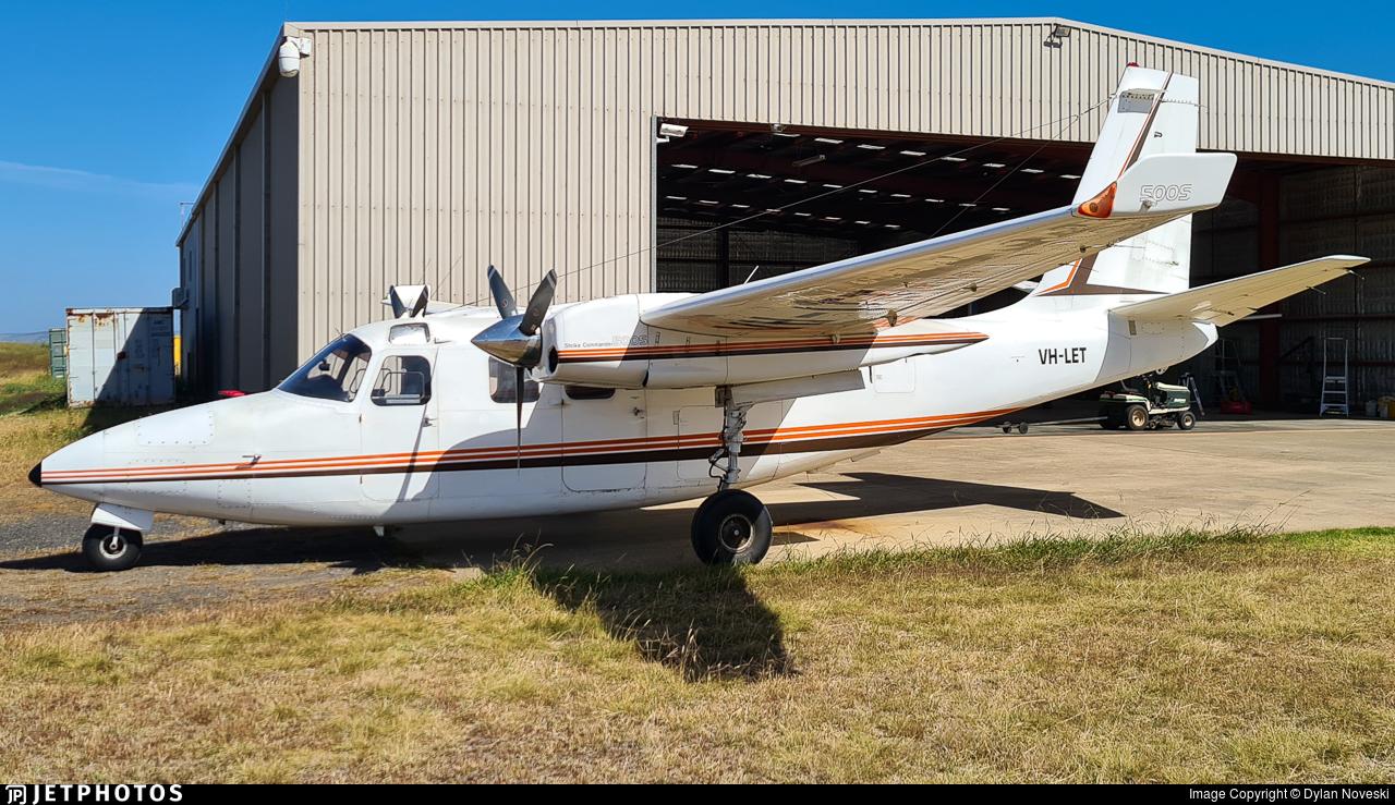 VH-LET - Aero Commander 500S - Private