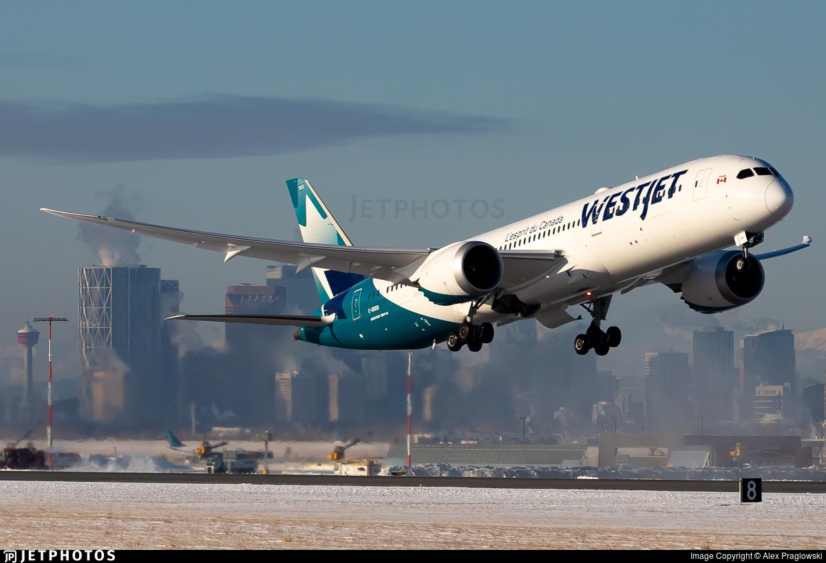 C-GKKN - Boeing 787-9 Dreamliner - WestJet Airlines